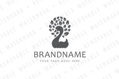 Swan of Leaves Logo Product Image 4