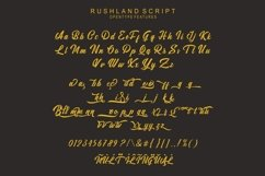 Rushland Scripts fonts Product Image 4