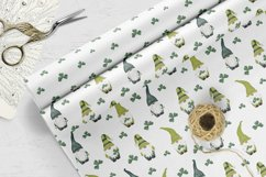 St Patrics day gnome seamless pattern Gnome digital paper Product Image 3