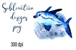 Residents of deep water Sea Style Sublimation Product Image 1