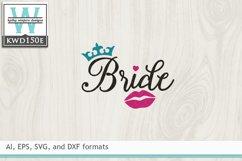 Wedding SVG - Bride Product Image 2