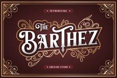 Barthez - Victorian Serif Font Product Image 1