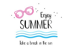 Hot Summer Textured Font Product Image 3