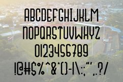 Fly Ball a Sporty Font Quad Product Image 5