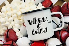 Snowy Mornings - A Hand-Lettered Christmas Font Product Image 2