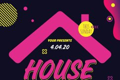 House Party Flyer Poster Product Image 5