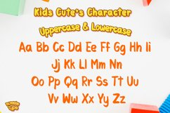 Kids Cute- Child font with doodle glyphs Product Image 2