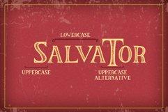 The Salvator - Vintage Font Set Product Image 3