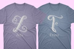 Swirly Letters - Handlettered Monogram Product Image 8