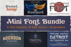 Mini font bundle all bonus Product Image 1