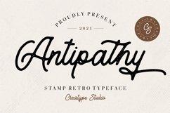 Antipathy Stamp Retro Product Image 1