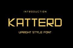 Katterd   Super Sans Serif Font Product Image 1