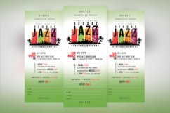 Reggae Jazz Concert Ticket Template Product Image 2