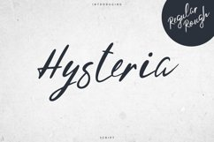 Hysteria Script - 2 styles Product Image 1