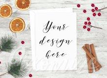 Christmas Card Mockup Bundle Product Image 6
