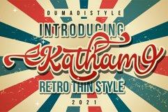 Katham - Retro Style Product Image 1
