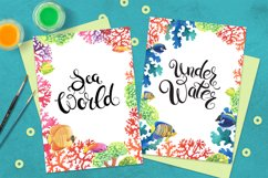 Sea World watercolor collection Product Image 3