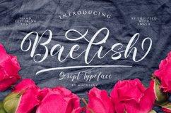 Baelish Script Font Product Image 1