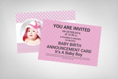 Baby Birth Card Product Image 2