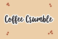 Coffee Crumble - A Handwritten Inky Font OTF TTF Product Image 1