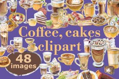 Coffee and cakes bundle Product Image 1