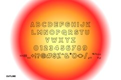 Broad Alley - A Wide San Serif Font !INTRO SALE! Product Image 3