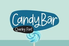 Web Font CandyBar - Quirky Font Product Image 1