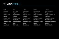 SB Vibe Family - 50 font bundle Product Image 2