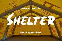 Web Font Shelter Font Product Image 1