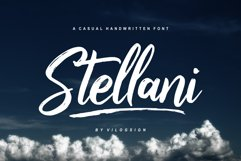 Stellani // a Casual Handlettering Font Product Image 1