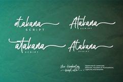 Atakana Handwriting Font Script Product Image 5