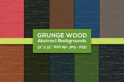 Grunge Wood Abstract 10 Backgrounds Product Image 1