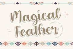 Magical Feather Beautiful Modern Calligraphy Font Product Image 1