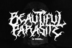 Heartless - Most Wanted Deathmetal Font Product Image 3