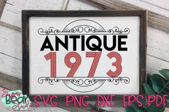 Antique 1950 - 1989 - An Antique Styled Cut File Product Image 3