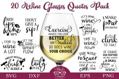Wine Glasses Quotes Pack Product Image 1