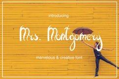 Mrs. Montgomery Brush Font Product Image 1