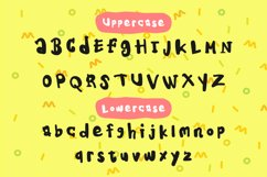 Kids Note - A Cute Display Font Product Image 5
