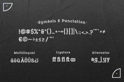 Runboy - Strong Slab Serif Font Product Image 5