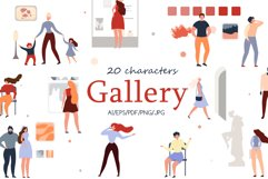 Gallery Charactery Flat Collection Product Image 1