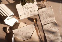 Ooid Sand Calligraphy Script Font Product Image 5