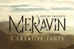 Meravin Typeface Product Image 1