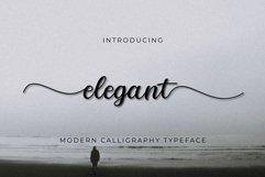 Elegant script Product Image 1