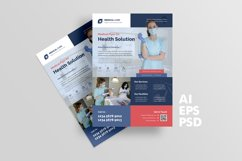 Medical Flyer Design with Blue Color Product Image 2