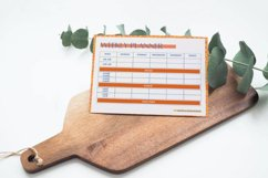 Weekly Planner Page, 4 Color Styles Canva Template Product Image 2