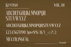 Kentish Typeface Product Image 6