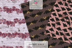 Spooky Wicca Girl Graphics Pattern Halloween DP009 Product Image 2