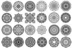 100 Vector Mandala Ornaments Product Image 2