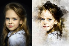 Watercolor Mixed Art Photoshop Action Product Image 2