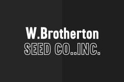 Brotherton Vintage Sans Serif Font Typeface Product Image 4